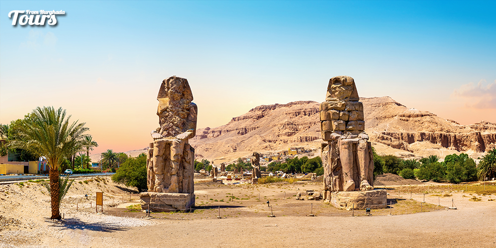 Colossi of Memnon - Things to Do in Luxor - Tours From Hurghada
