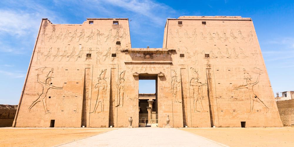 Edfu Temple - Day Tour to Edfu & Kom Ombo from Port Ghalib - Tours from Hurghada