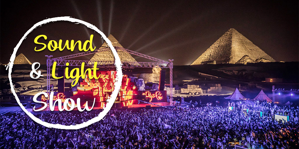 Giza Pyramids Sound and Light Show - How to Spend a Day in Cairo - Tours From Hurghada