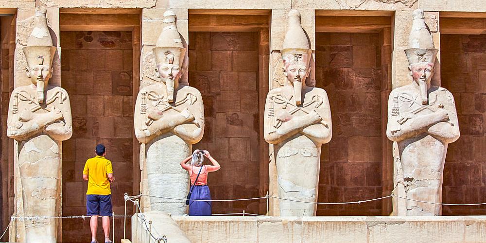 Hatshepsut Temple - 2 Days Luxor, Aswan & Abu Simbel Tour from Port Ghalib - Tours from Hurghada