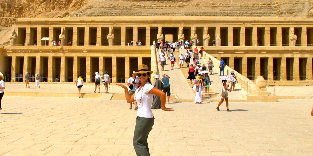 Hatshepsut Temple - Cairo and Luxor Tour from Port Ghalib - Tours from Hurghada