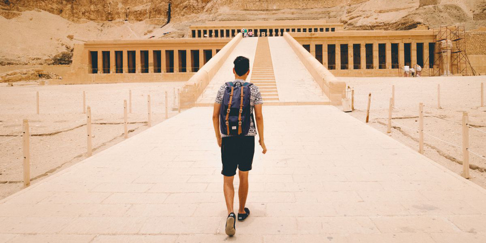 Hatshepsut Temple - Trips to Luxor from Port Ghalib - Tours from Hurghada