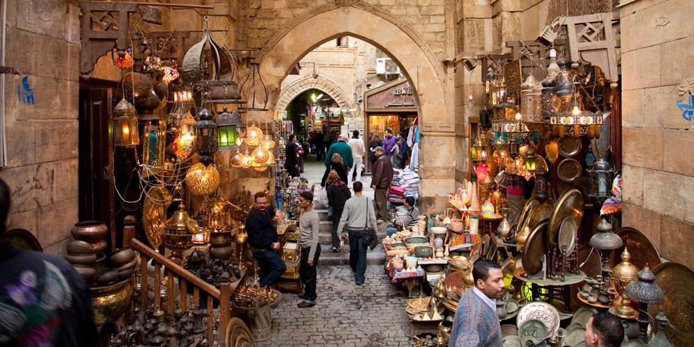 Khan El Khalili Bazaar - 2 Days Cairo Tour from Port Ghalib - Tours from Hurghada