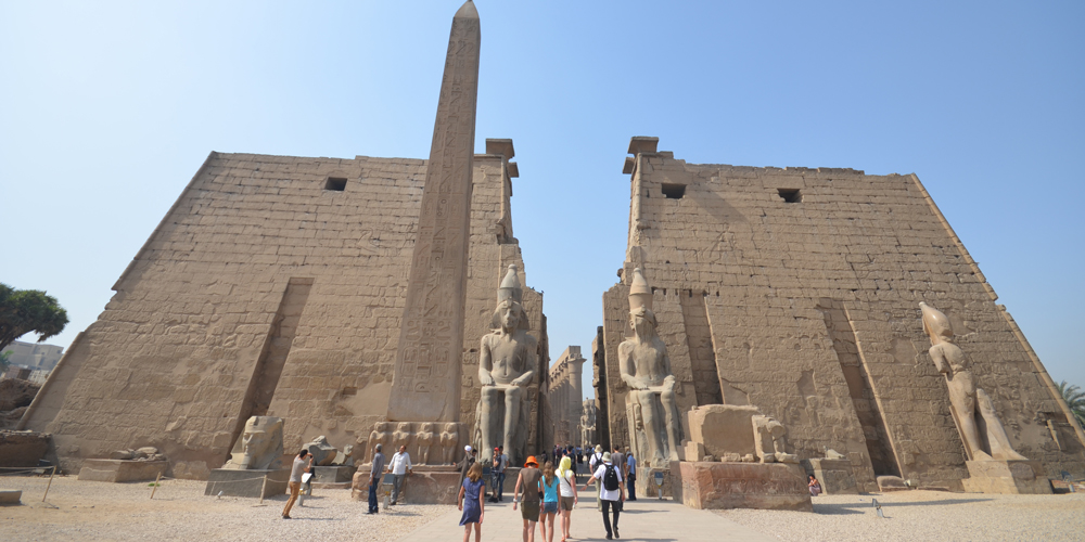 Luxor Temple - Trips to Luxor from Port Ghalib - Tours from Hurghada