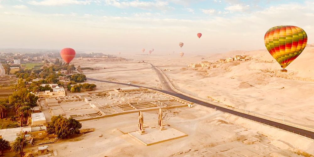 Luxor Tour from Port Ghalib with Hot Air Balloon - Tours from Hurghada