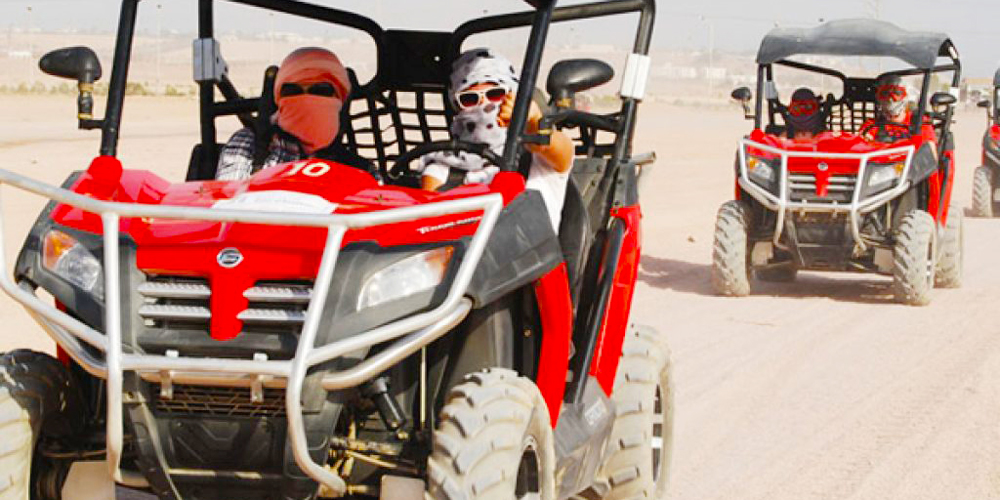 Morning Car Buggy From El Gouna - Tours from Hurghada