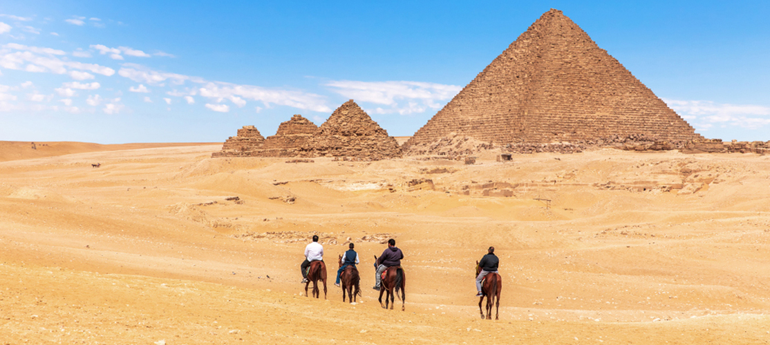 Pyramids of Giza - Cairo and Luxor Tour from Port Ghalib - Tours from Hurghada