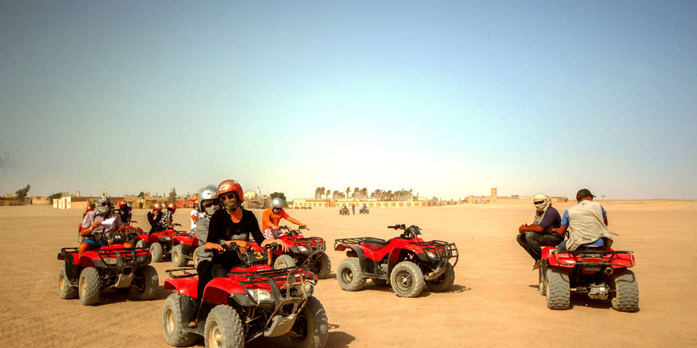 Safari Quad Bikes - Sunset Safari Excursions From El Gouna By Quad Bike - Tours from Hurghada