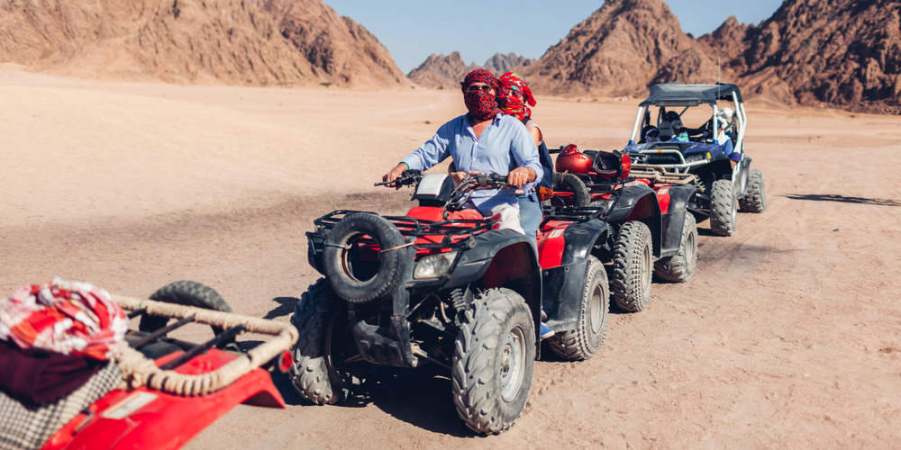 Safari Trip from El Gouna by Quad Pike Morning - Tours from Hurghada