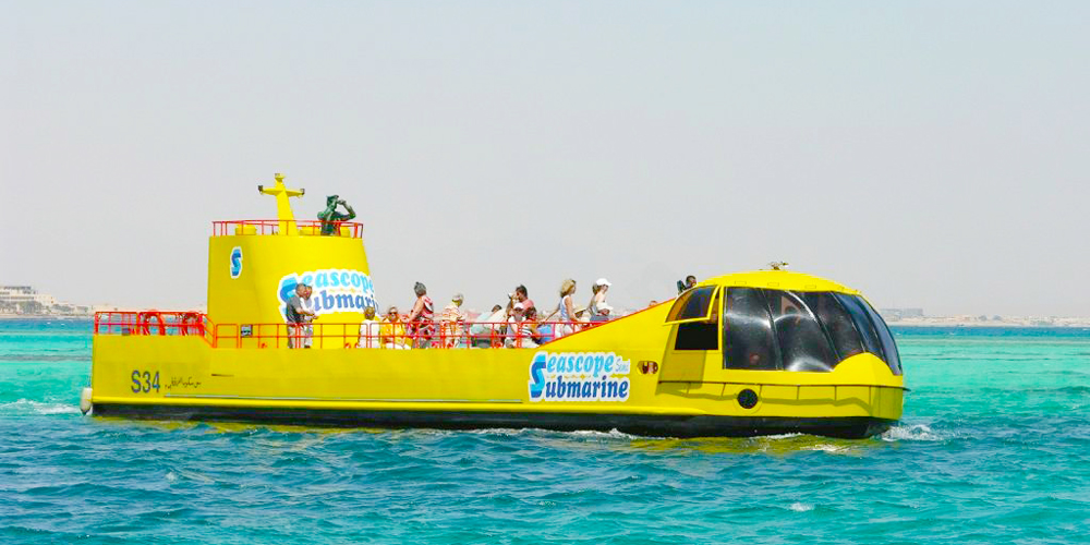 Semi-Submarine El Gouna - Tours from Hurghada
