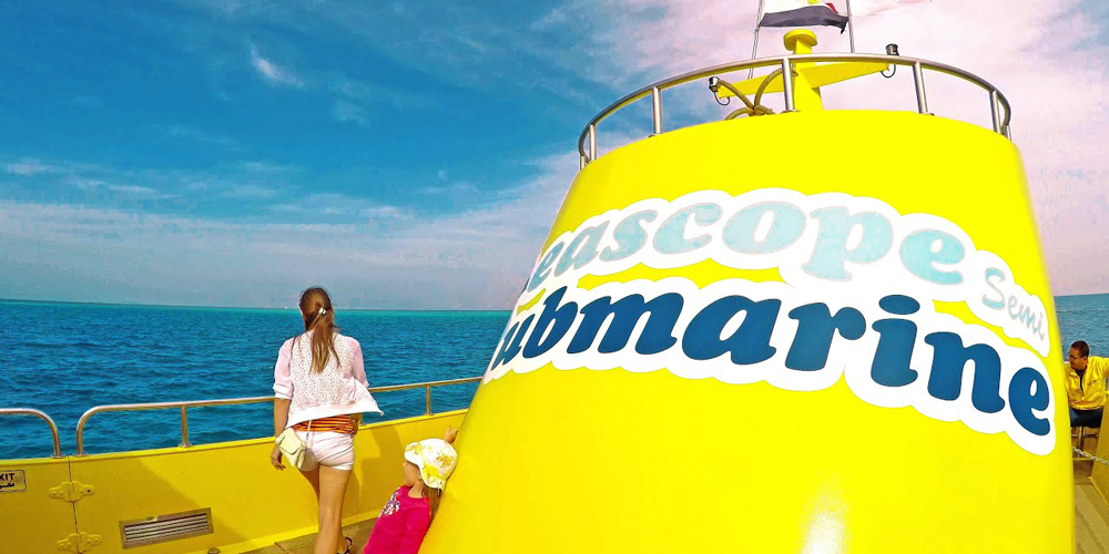 Semi-Submarine Tours from El Gouna - Tours from Hurghada