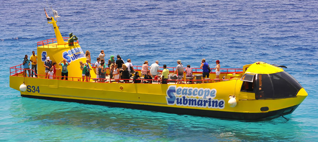 Semi-Submarine from El Gouna - Tours from Hurghada