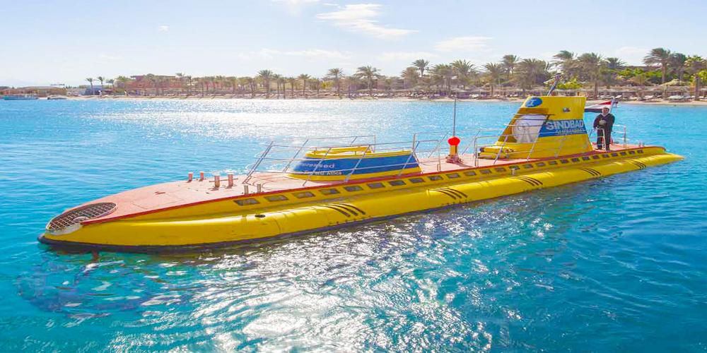 Sindbad Submarine Adventure from El Gouna - Tours from Hurghada