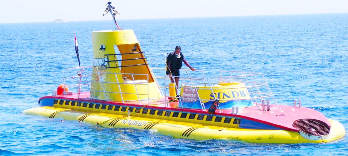 Sindbad Submarine El Gouna - Tours from Hurghada