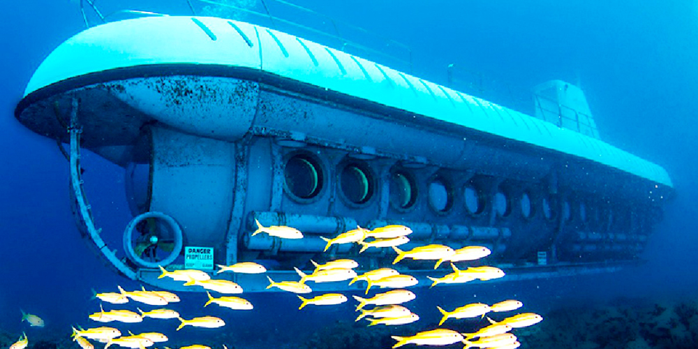 Sindbad Submarine from El Gouna - Tours from Hurghada