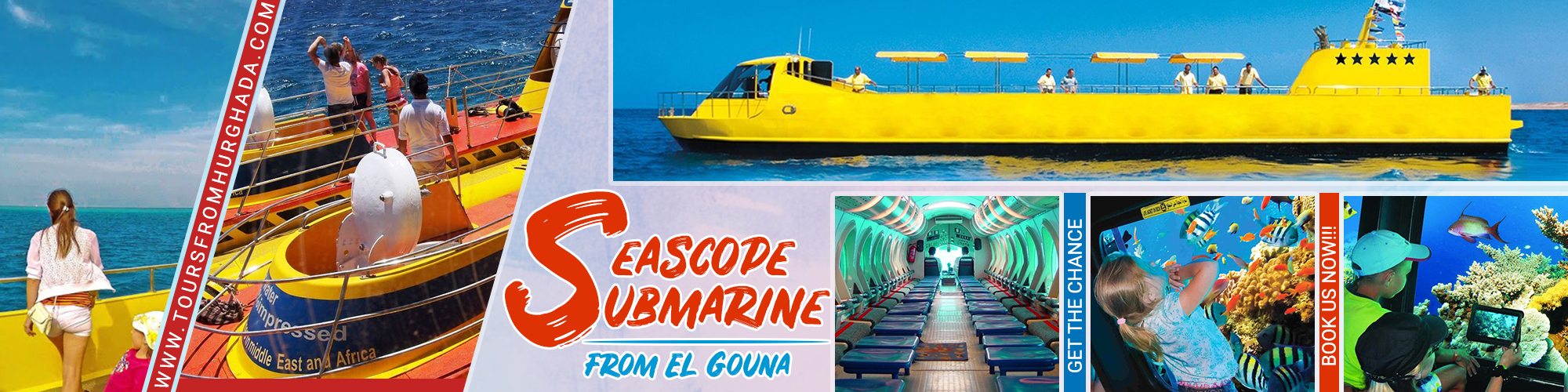 Submarine Seascape Trips From El Gouna - Tours from Hurghada