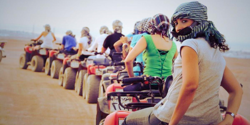 Sunset Safari Excursions From El Gouna By Quad Bike - Tours from Hurghada
