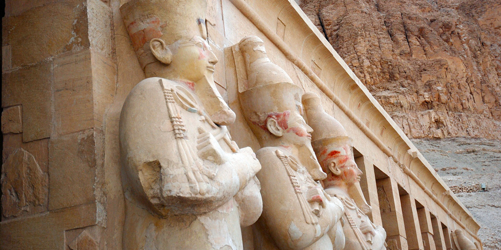 Temple of Hatshepsut - Trips to Luxor from Port Ghalib - Tours from Hurghada