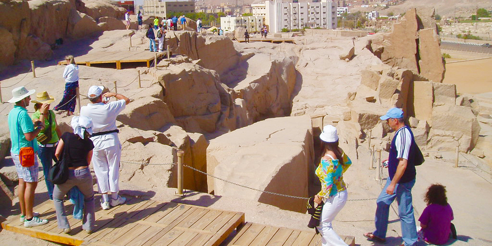 The Unfnished Obelisk - 2 Days Aswan and Abu Simbel Tour from Port Ghalib - Tours from Hurghada