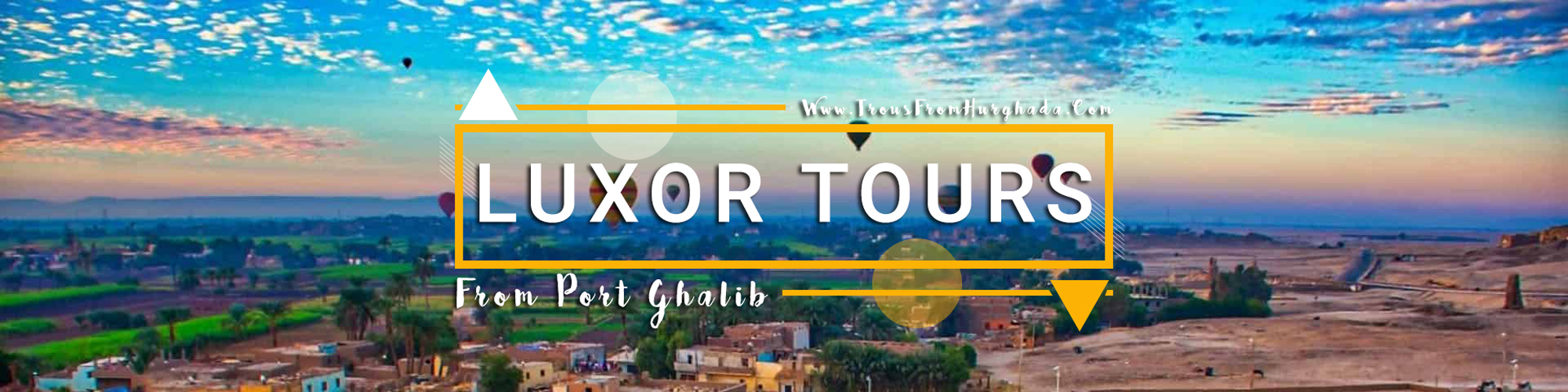 Trips to Luxor from Port Ghalib - Tours from Hurghada