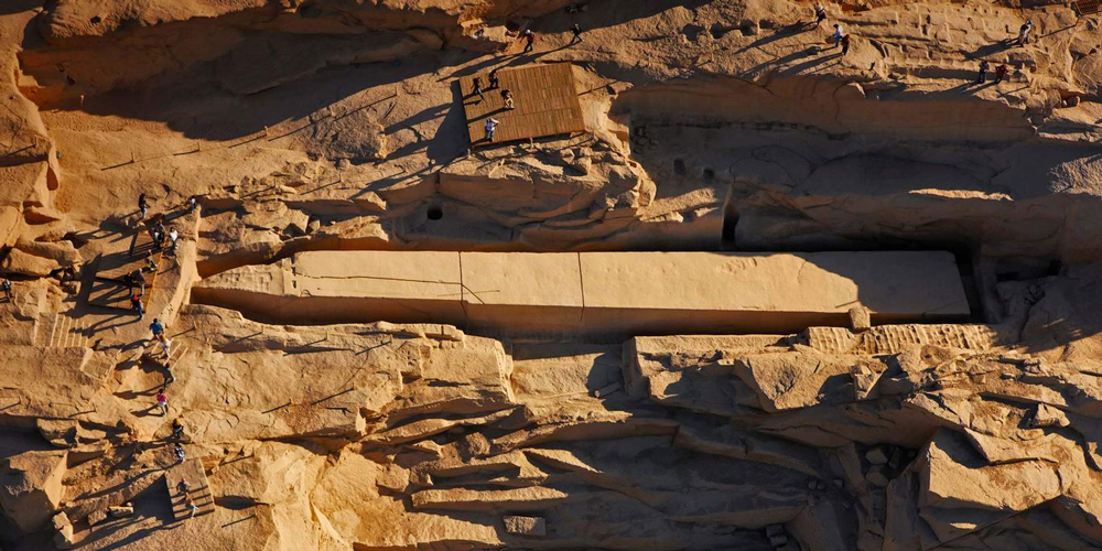 Unfinished Obelisk - Aswan & Abu Simbel Tour from Makadi - Tours from Hurghada
