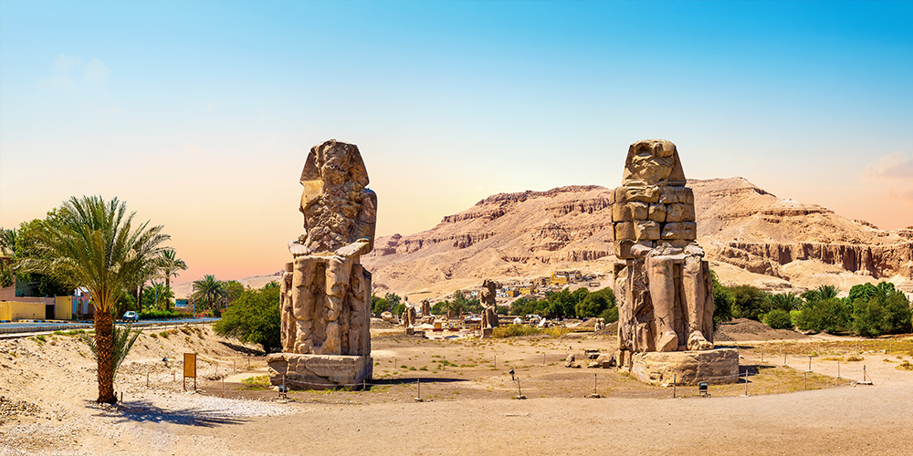 Colossi of Memnon - Two Days Trip To Luxor From Soma Bay - Tours From Hurghada