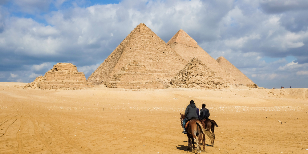 Giza Pyramids Complex - Cairo Day Tour from Soma Bay - Tours From Hurghada