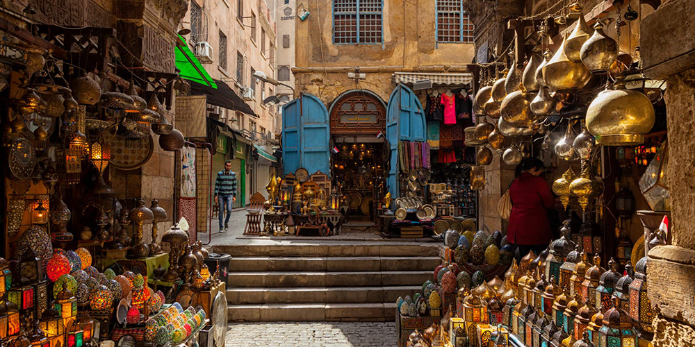 Khan El Khalili Bazaar - Cairo Day Tour from Soma Bay - Tours From Hurghada