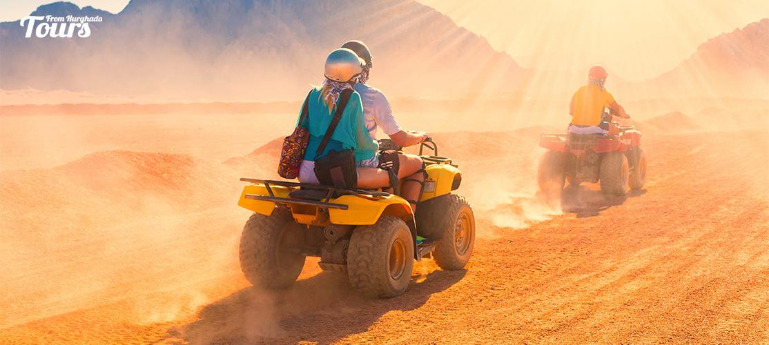 Makadi Bay Sunset Desert Safari Trip By Quad Bike - Safari Trip From Makadi Bay - Tours From Hurghada