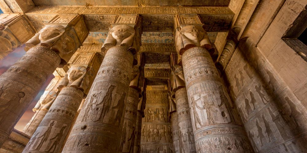 Colums of Dendera - Dendera Tour from Port Ghalib - Tours from Hurghada