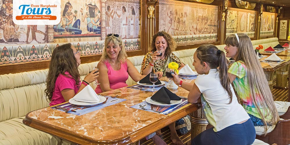 Dinner in Nefertari Boat - Tours from Hurghada