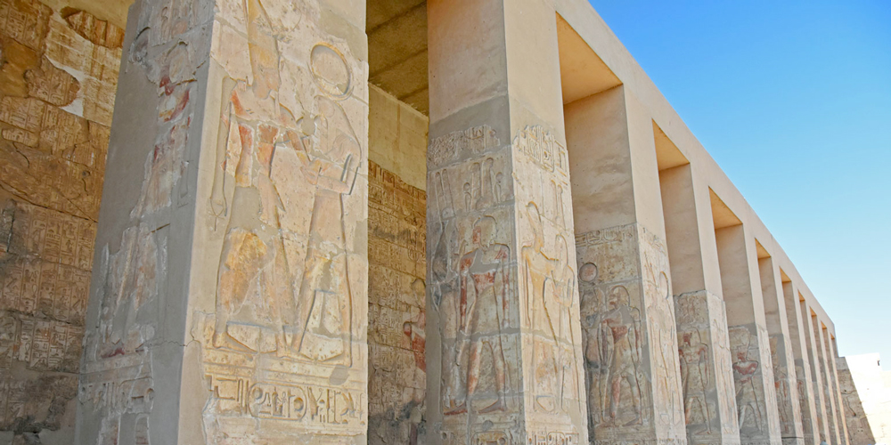 Entrance of Abydos Temple - Dendera and Abydos Tour from Makadi Bay - Tours from Hurghada