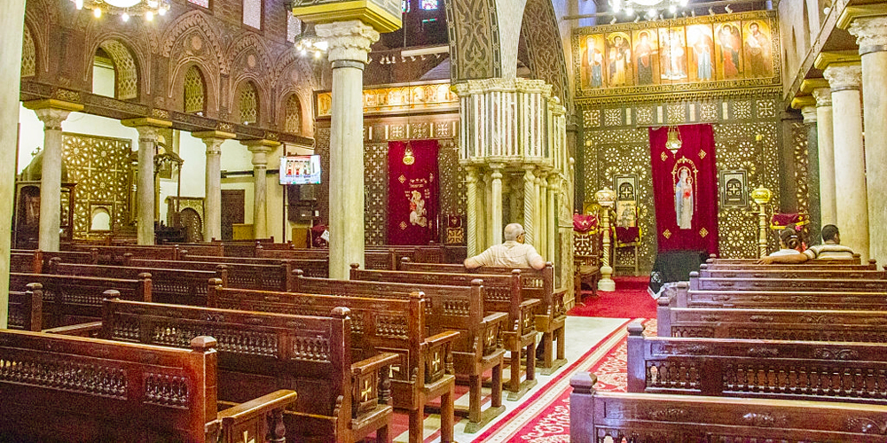 Hanging Church - Two Days Tour to Cairo from Soma Bay - Tours from Hurghada