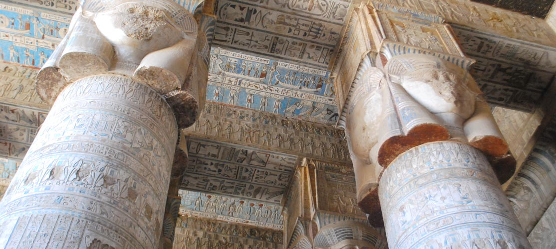 Inside Dendera Temple -Dendera Tour from Port Ghalib - Tours from Hurghada
