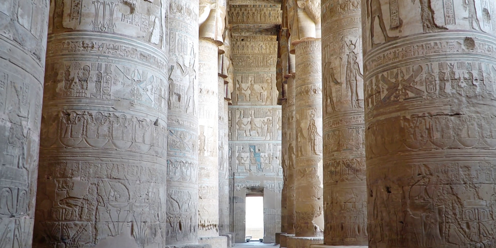 Inside Dendera Temple - Dendera and Abydos Tour from Makadi Bay - Tours from Hurghada