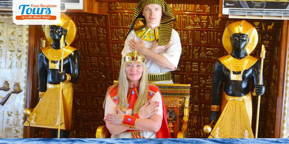 Nefertari Boat Desgin - Tours from Hurghada