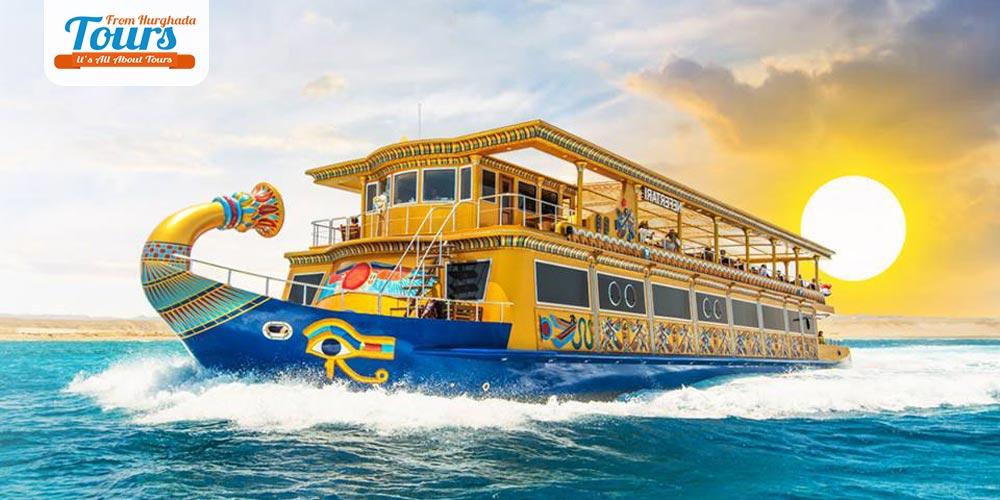 Nefertari Seascope Boat Port Ghalib - Tours from Hurghada