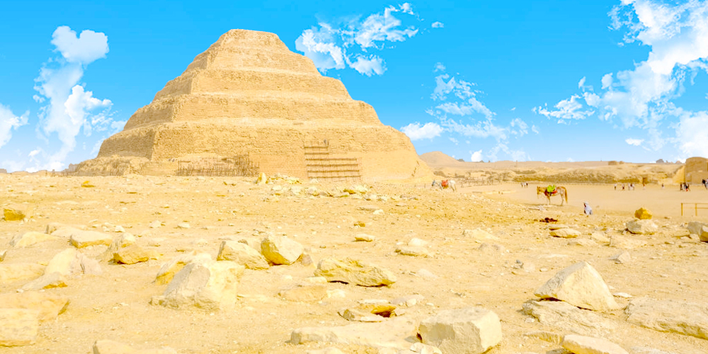 Saqqara Step Pyramid - Two Days Tour to Cairo from Soma Bay - Tours from Hurghada