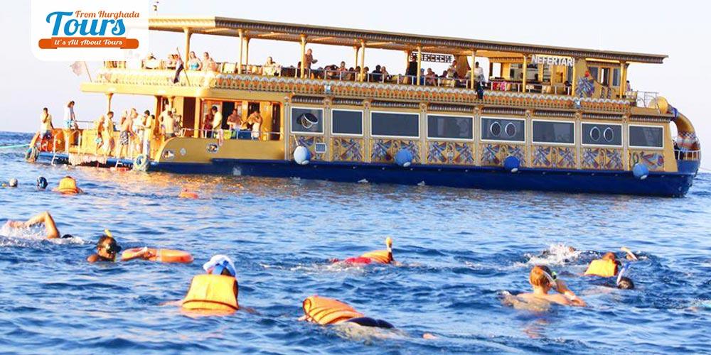 Snorkeling Nefertari Boad Port Ghalib - Tours from Hurghada