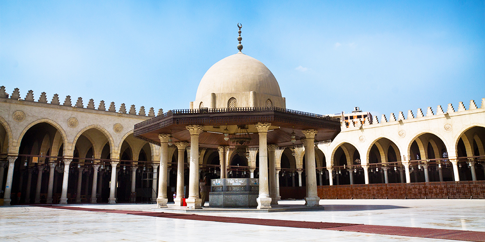 Amr Ibn Al-Aas Mosque - 9 Days Marsa Alam Holiday with a Tour to Pyramids and Old Cairo - Tours From Hurghada