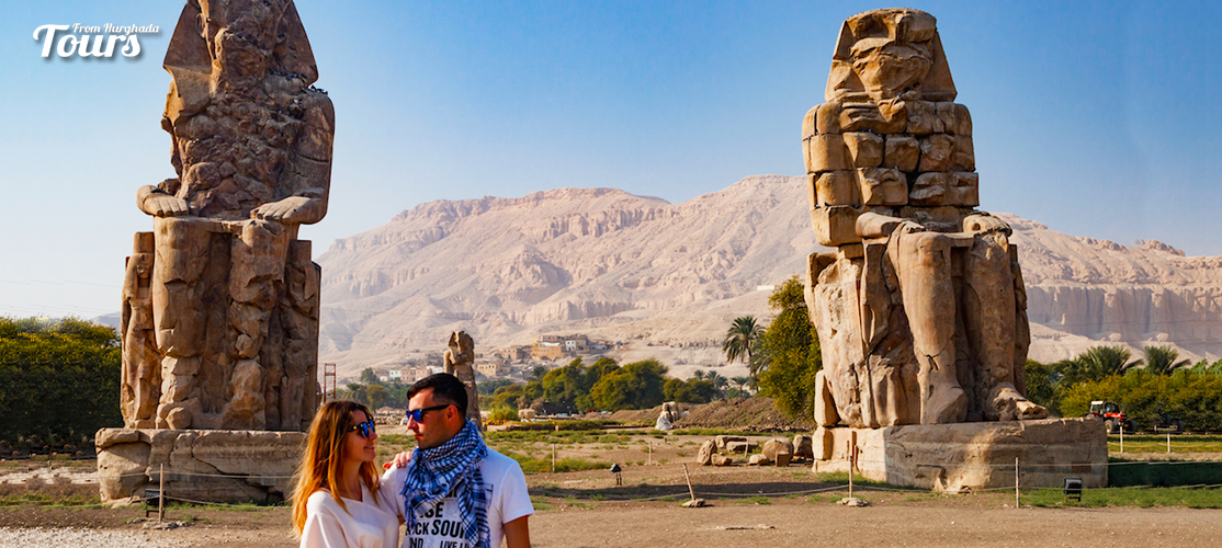 Colossi of Memnon - 14 Days Marsa Alam Holiday with a Nile Cruise - Tours From Hurghada
