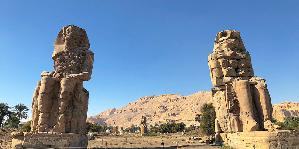 Colossi of Memnon - 9 Days Marsa Alam Luxor & Aswan Holiday - Tours From Hurghada