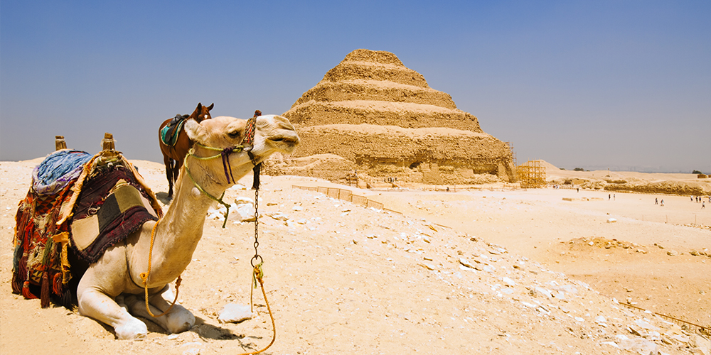 Saqqara Step Pyramid - 9 Days Marsa Alam Holiday with a Tour to Pyramids and Old Cairo - Tours From Hurghada