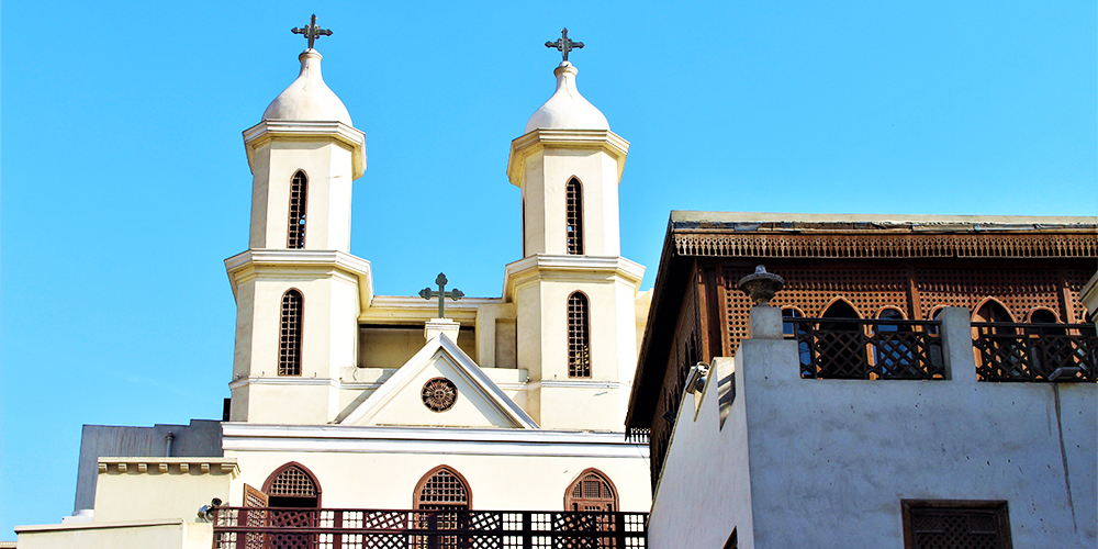 The Hanging Church - 9 Days Marsa Alam Holiday with a Tour to Pyramids and Old Cairo - Tours From Hurghada